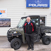 "Jerry Vetter, owner of Vetter Sales and Service, has been selling Polaris vehicles and products since 1964 in Kasota. He said that his sales of side-by-side vehicles has grown leaps and bounds, and added, ""If five years ago someone would've said we would sell this many side-by-sides, I wouldn't believe them."" Photo by Jackson Forderer"