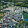 AMY SWEENEY/Staff photo. Aerial of Lawrence High School.<br /> May 6, 2012