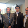 (left to right): Jeffrey Davis, co-founder of the Family Business Association and President of Mage LLC, Al DeNapoli, Founding Member and Executive Director of the FBA, David Yee, General Manager of China Blossom, and Brian Nagel, Executive Director of the Family Business Association and Vice President of BNY Mellon Center.