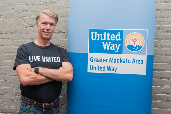 "Phil Slingsby is a volunteer for United Way as well as Kiwanis. ""This is something that's a lot of fun,"" Slingsby said, ""You get more out of it than you put in."" Photo by Jackson Forderer"