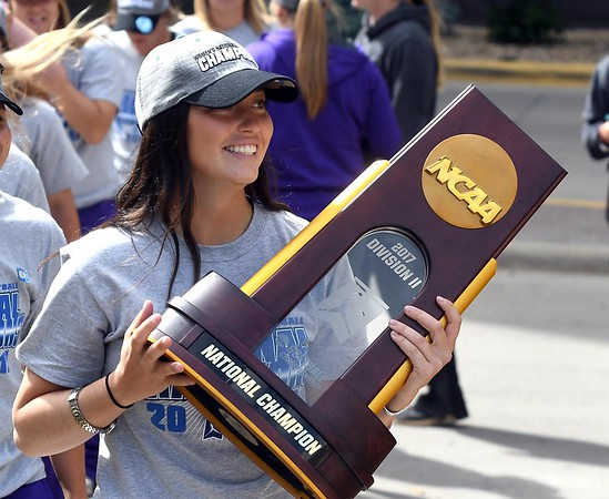 MSU softball welcome home