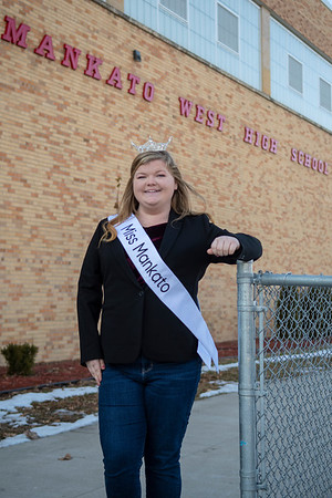 Morgyn Haugen, an alum of Mankato West, is Miss Mankato 2020. She is currently attended Concordia Moorhead where she is a nursing major.