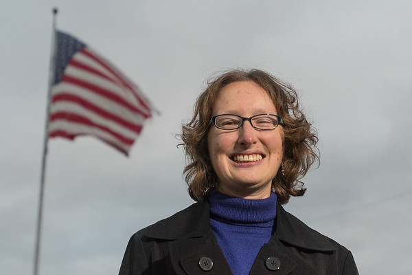 Penny Nelson is a veteran of the US Navy, serving from 1994 to 2014. Nelson's final rank was as a Petty Officer First Class. Photo by Jackson Forderer