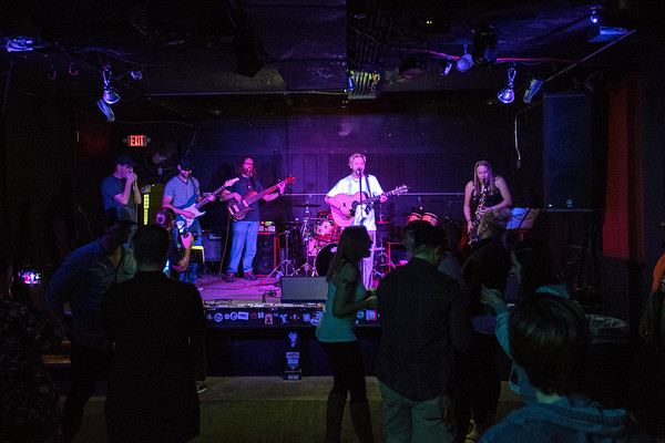 The Tony Flynn Project plays at the What's Up? Lounge. Photo by Jackson Forderer