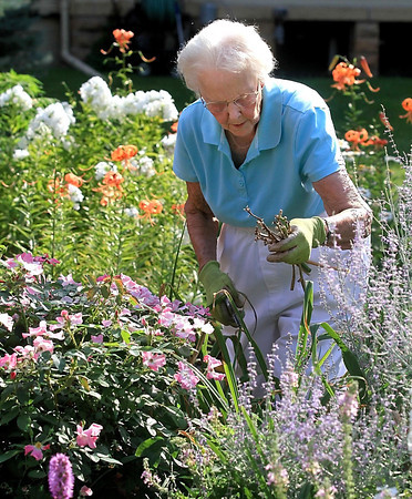 Joyce Nelson is the only remaining member of the Twilight Garden Club.
