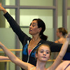 Evelyn Cisneros-Legate, is a former dancer for the San Fransisco Ballet and now heads the Boston Ballet School at the Lynch/Van Otterloo YMCA in Marblehead. David Le/Staff Photo