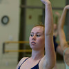 Julianna Mooney, 17, of Beverly, during class at the Boston Ballet School at the Lynch/van Otterloo YMCA in Marblehead. David Le/Staff Photo David Le/Staff Photo
