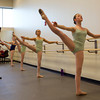 Dancers at the Boston Ballet School at the Lynch/van Otterloo YMCA. David Le/Staff Photo