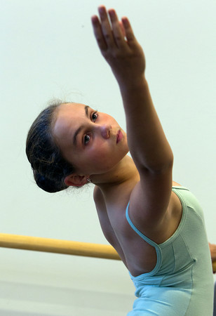 Rachel Sorenson, 12, of Salem, will be dancing in the Boston Ballet's Nutcracker this winter. David Le/Staff Photo