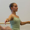 Elizabeth Green, 12, of Marblehead, dances at the Boston Ballet School at the Lynch/van Otterloo YMCA. David Le/Staff Photo