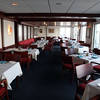 DAVID LE/Staff photo. The upstairs bar and clubhouse at the Boston Yacht Club.