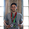DAVID LE/Staff photo. Marblehead native Spencer Mahoney recently participated in the show Spartan Ultimate Team Challenge on NBC. The Bishop Fenwick graduate has participated in 40-50 Spartan races since 2012 and has a large social media following. 6/24/16.