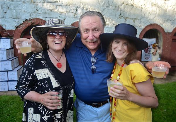 From left, Cheryl Henderson, Paul Stevens and Angela Spaulding.