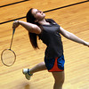 Marblehead: 15-year-old Marblehead native Nicole Tassel is one of the premiere players in the Marblehead Youth Badminton Program. The Marblehead High School sophomore participates in National and International Tournaments and recently traveled to Israel to participate in the Maccabi Games. David Le/Marblehead Home and Style Magazine