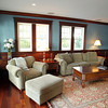 Marblehead: Living Room of 83 Naugus Ave Marblehead. David Le/Marblehead Home & Style Magazine