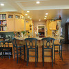 MARBLEHEAD HOME AND STYLE Magazine:<br /> The kitchen at the home of Artha Gerland at 11 Manataug Trail in Marblehead.<br /> <br /> Photo by Ken Yuszkus / Salem News, Friday, July 12, 2013.