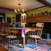 MARBLEHEAD HOME AND STYLE Magazine:<br /> The dinning room at the home of Artha Gerland at 11 Manataug Trail in Marblehead.<br /> <br /> Photo by Ken Yuszkus / Salem News, Friday, July 12, 2013.