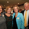 Marblehead: From left, Susie Leahy, Beth Ferris, and Brooks and Ned Williams, at the Marblehead Chamber of Commerce's Annual Meeting held at The Landing. David Le/Marblehead Home & Style Magazine