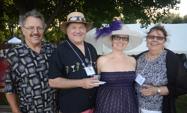 From left, Ted Tobey, Eric Knight, Nora Falk and Jean Knight.