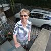 KEN YUSZKUS/Staff photo.  Selectman Judy Jacobi and her parking space on Front Street.   8/6/15