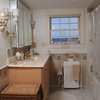 Marblehead:<br /> The upstairs' bath room at Judy Anderson's home at 31 Orne Street in Marblehead.<br /> <br /> Photo by Ken Yuszkus/Salem News, Wednesday,  February 22, 2012.