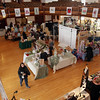 Local businesses set up shop in Abbott Hall during the 2011 Christmas Walk. David Le/Marblehead Magazine