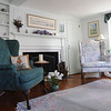 Marblehead:<br /> The living room at Judy Anderson's home at 31 Orne Street in Marblehead.<br /> <br /> Photo by Ken Yuszkus/Salem News, Wednesday,  February 22, 2012.