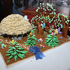 "Winner of the ""Best In Show"" gingerbread competition at the Lee Hooper Mansion during the 2011 Christmas Walk. David Le/Marblehead Magazine"