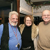 Marblehead:Ê Enjoying the evening, from left, Chuck Scheffreen, past president and board member, Paula J. Magnanti, logo store volunteer and Gene Arnould, auctioneer for event, all are from Marblehead,<br /> at the Marblehead Festival of Arts Annual Logo Premiere Party, Tuesday, at the Landing Restaurant, Marblehead.Ê Photo by Frank J. Leone, Jr.<br /> ÊÊÊÊÊÊÊÊÊÊÊÊÊÊÊÊÊÊÊÊÊÊÊÊÊÊÊ