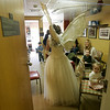 Dr. Corine Barone visits children in her waiting room, at her Marblehead office. Dr. Barone dresses as the tooth fairy, while visiting schools and speaking at conferences.