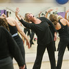 Joyce Colahan, founder of Dancenergy,leads a morning class at  Gravity Fitness Club. Photo by Mark Lorenz