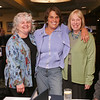 Out and About for Marblehead Magazine Summer 2009 issue. KIPP (Knowledge is Power Program) dinner at The Landing Restaurant in Marblehead. Photo by Matthew Viglianti/Staff Photographer Tuesday, April 21, 2009.<br /> <br /> From left to right, Pam Schalck, Phyllis Smith, and Susan Zoia, all of Marblehead, at the dinner.