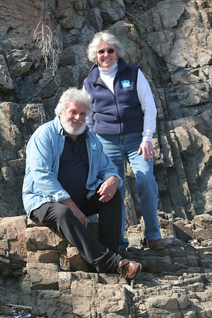 Chuck Scheffreen and his wife, Carol Thompson, are long-time supporters of the Marblehead Festival of the Arts. They both run Writer's World out of the UU Church, where they first met, in the '70s.