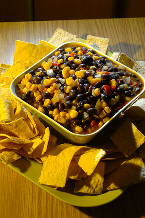Beverly:<br /> Bean dip or pasta dish.<br /> Photo by Ken Yuszkus/Salem News, Wednesday, March 18, 2009.