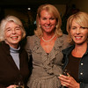Out and About for Marblehead Magazine Summer 2009 issue. KIPP (Knowledge is Power Program) dinner at The Landing Restaurant in Marblehead. Photo by Matthew Viglianti/Staff Photographer Tuesday, April 21, 2009.<br /> <br /> From left to right, Betty Butler from Pittsburgh, PA, Susan Brakeley from Marblehead, and Cynthia Rogers from Marblehead, at the dinner. All are supporters of KIPP.