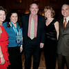 From left Deborah Greel, director of Marblehead Arts Association, attends the Dancing with the Arts fundraiser with Ann Marie Casey, executive director of Marblehead Chamber of Commerce, David Kay, president of Marblehead Chamber of Commerce, and Kathleen and Tony Sasso, Marblehead's town administrator.<br /> photo by deborah parker