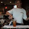 Marblehead: Jody Martin, bartender at Three Cod Tavern, Marblehead, prepares a Pumpkin Spice Martini.