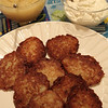 Marblehead: Latkes for Hanukkah, made by the Mogolesko family