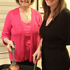 Marblehead: Gail Gerson and her daughter, Ilana Mogolesko prepare Latkes for Hanukkah.