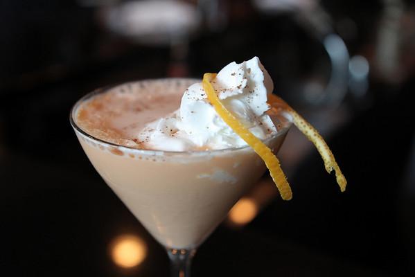 Marblehead: Pumpkin Spice Martini,  at Three Cod Tavern.