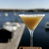 A Sunny Winter cocktail at  The Landing in Marblehead. photo by deborah parker/november 3, 2010