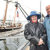 Betsy Hoffman Hundahl and Doug Hill, both of Marblehead.