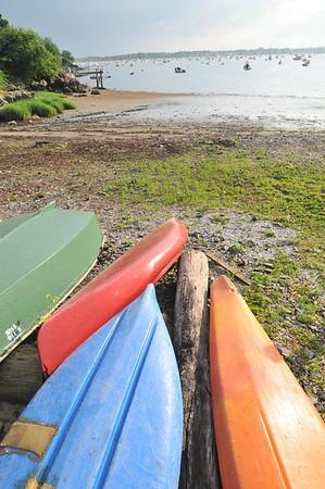Mablehead: Naugus Head boating beach. photo by Mark Teiwes