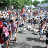 Marblehead: Families and friends get ready prior to the Marblehead Horrible's parade     photo by Mark Teiwes