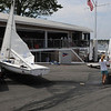 Marblehead:<br /> The new boathouse at the Pleon Yatch Club.<br /> Photo by Ken Yuszkus/Salem News, Tuesday, July 13, 2010.