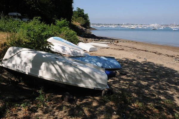 Marblehead:<br /> Stramski Beach<br /> Photo by Ken Yuszkus/Salem News, Thursday, July 8, 2010.