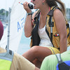 Marblehead:<br /> Erin Pierce at the adventure class held at the Pleon Yatch Club.<br /> Photo by Ken Yuszkus/Salem News, Tuesday, July 13, 2010.