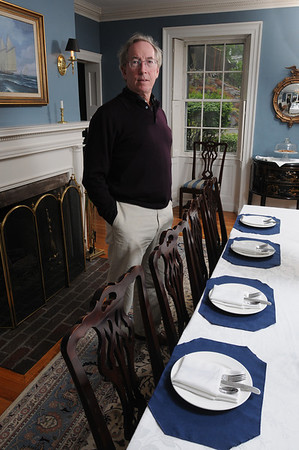 Marblehead:<br /> Peter Conway is the owner of Harbor Light Inn.<br /> Photo by Ken Yuszkus/Salem News, Wednesday, May 19, 2010.