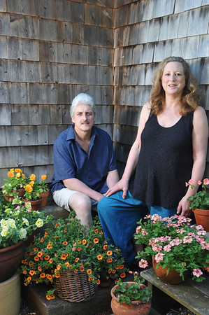 Marblehead:Dave and Jennifer Rich are the owners and operators of the Arbor House Bed and Breakfast.   photo by Mark Teiwes / Salem News