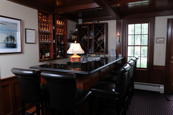 Marblehead:<br /> The bar at Harbor Light Inn.<br /> Photo by Ken Yuszkus/Salem News, Wednesday, May 19, 2010.
